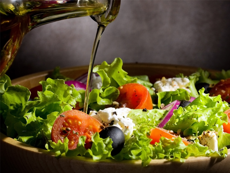 Olive oil improves digestion