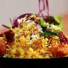 Carrots Sundal with Chilli Tadka